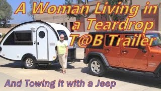 Download Living in a T@BT Trailer & Towing it with a Jeep Video