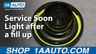 Download A Few Reasons a Gas Cap can turn on the Check Engine or Service Soon Light after a fill up Video
