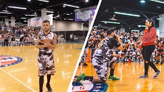 Download CRAZY OVERTIME GAME! (Qias Omar proposes on court!!) Video