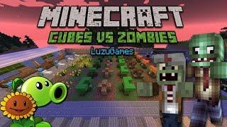 Download PLANTS VS ZOMBIES en Minecraft!!! - [LuzuGames] Video