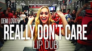 Download Demi Lovato ″Really Don't Care″ Lip Dub | Peters Township High School Video