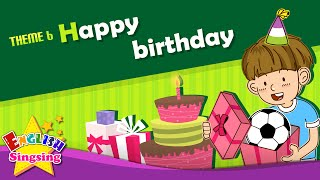 Download Theme 6. Happy Birthday - This is for you. Thanks. | ESL Song & Story - Learning English for Kids Video