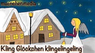 Download Kling Glöckchen klingelingeling - Weihnachtslieder deutsch   Kinderlieder deutsch - muenchenmedia Video