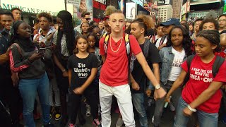 Download 'Backpack Kid' Teaches Fans How To Do His Signature Move Video
