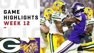 Download Packers vs. Vikings Week 12 Highlights | NFL 2018 Video