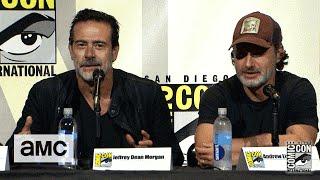 Download The Walking Dead: Season 7 Comic-Con Panel Highlights: Jeffrey Dean Morgan Embraces the Fandom Video
