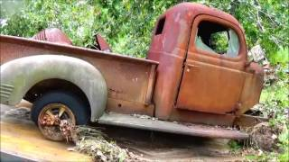 Download 1941 to 1947 Dodge Truck Rescue 1946, 1942 Video