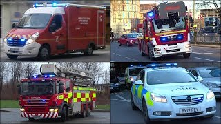 Download Police, Ambulance & Fire truck siren compilation - Hi Lo & Two Tones - Video