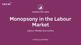 Download Monopsony in the Labour Market Video