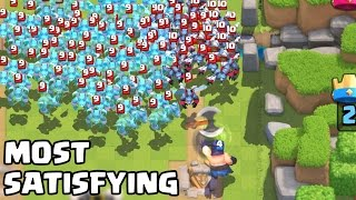 Download The Most Satisfying Video Ever in Clash Royale Video