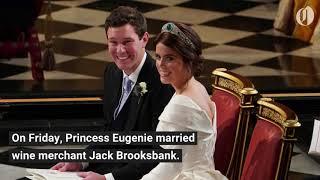 Download Princess Eugenie weds Jack Brooksbank at Windsor Castle Video