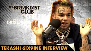 Download 6ix9ine On Why He Loves Being Hated, Rolling With Crips And Bloods & Why He's The Hottest Video