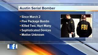 Download FBI: Austin bombing suspect kills himself with explosive device Video