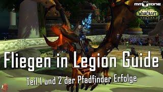 Download WoW Fliegen in Legion mit Patch 7.2 Guide - Pfadfinder der Verheerten Insel Teil 1 und 2 Video