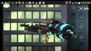Download Justice league throne of atlantis : battle scene Video