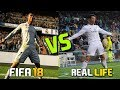 Download FIFA 18 Goals Celebrations , Graphics , News Face in Real Life | FIFA vs Real Life ft Ronaldo Dybala Video