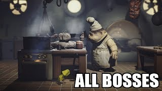 Download Little Nightmares - All Bosses (With Cutscenes) HD 1080p60 PC Video