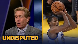 Download Skip Bayless on Kevin Durant calling out his haters with new shoes: 'This is who he is' | UNDISPUTED Video
