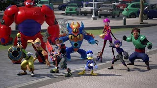Download KINGDOM HEARTS III – TGS Big Hero 6 Trailer (Closed Captions) Video