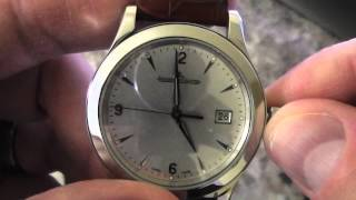 Download Automatic Watch - Setting Time & Date Tutorial Video