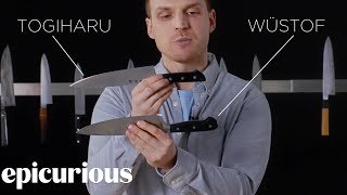Download Knifemaker Explains The Difference Between Chef's Knives | Epicurious Video