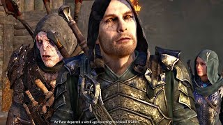 Download Blade of Galadriel DLC - All Nazgul Talion & Eltariel Cutscenes Video