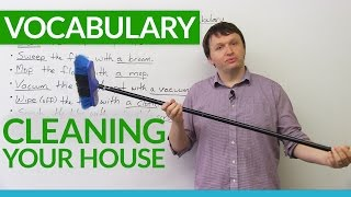 Download English Vocabulary: House Cleaning Video