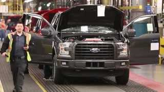 Download 2015 Ford F-150 Assembly Line Video