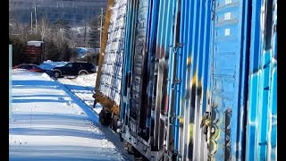 Download Freight Train Rocking Off Rails! (Featured In Trains Magazine) | Jason Asselin Video