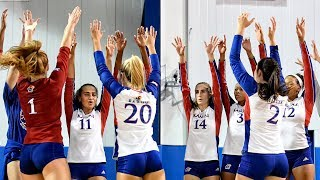 Download #7 Kansas sweeps #13 Kentucky 3-0 in memorable home opener//Kansas Volleyball//9.04.17 Video