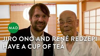 Download Jiro Ono and René Redzepi Have a Cup of Tea Video