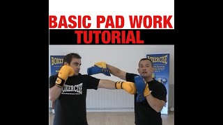 Download Boxercise Boxing Techniques - Pad Work Video