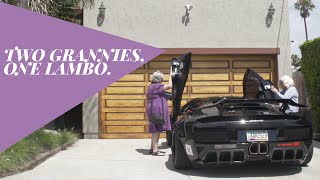 Download Two Grannies, One Lamborghini | Donut Media Video