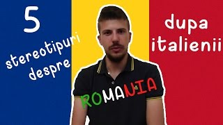 Download CE CRED ITALIENII DESPRE ROMANIA - STEREOTYPES ABOUT ROMANIA Video