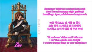 Download Zico - Eureka [Feat. Zion.T] (Rom-Han-Eng Lyrics) Color & Picture Coded Video