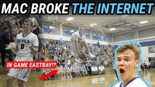 Download Mac McClung Goes BETWEEN THE LEGS & JORDAN SHRUGS!! Most Epic HS Dunker EVER 🔥 Video