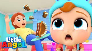 Download Ouch, We Go Boom Boom! | Accidents Song | Little Angel Kids Songs Video
