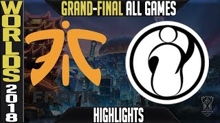 Download FNC vs IG Highlights ALL GAMES | Worlds 2018 Grand-final | Fnatic vs Invictus Gaming Video