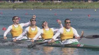 Download Australia Gold - Men's Kayak Four 1000m | London 2012 Olympics Video