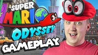 Download Super Mario Odyssey Gameplay - Metro Kingdom Demo Video