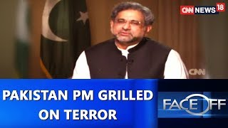 Download Pakistan PM Grilled on Terror | Face Off@9 With Zakka Jacob | CNN-News18 Video