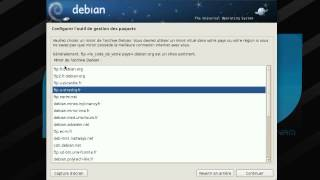 Download Linux debian installation part1 french francais Video