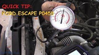 Download Quick Tip: Ford Escape P0455 Purge Solenoid Stuck Video