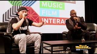 Download Wyclef Jean and MC Jin Trade Freestyle Raps and Beatbox at SXSW Video