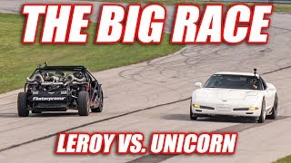 Download THE BIG RACE! (Leroy vs. Unicorn) Video