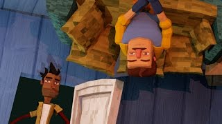Download Minecraft | Hello Neighbor - HIDDEN UPSIDE DOWN ROOM! (Hello Neighbor in Minecraft) Video