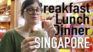 Download Amazing $5 meals in the World's most Expensive City // Singapore Eats Video