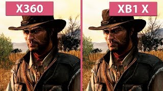 Download [4K] Red Dead Redemption – Xbox 360 vs. Xbox One X 4K Update Graphics Comparison Video