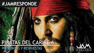 Download PREGUNTAS Y RESPUESTAS | PIRATAS DEL CARIBE 6 | #JAM RESPONDE | JAM REVIEWS Video