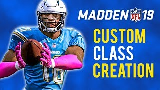 Download Madden 19 Custom Draft Class Creation LIVE! Video